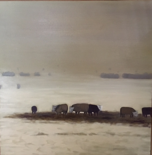"""""""Cows In Winter #2"""""""