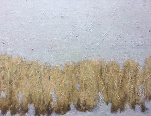 """Grasses in the Snow"""