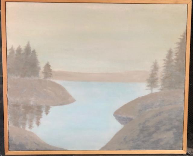 """Lake at Evening"""