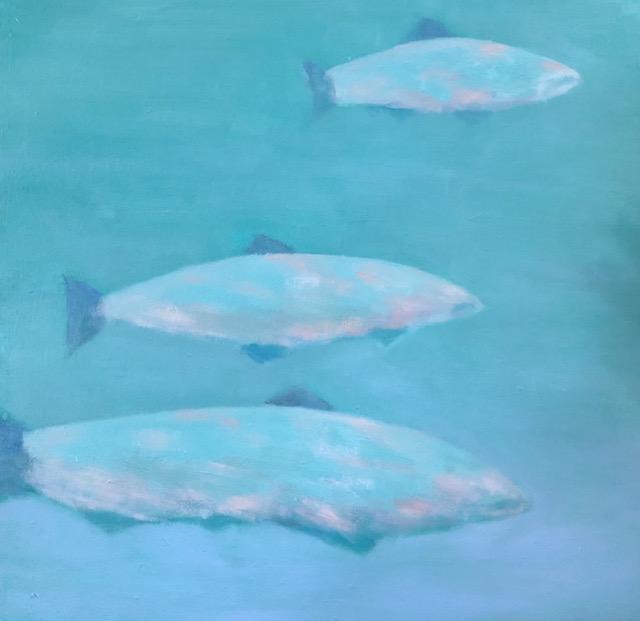 """Salmon In The Locks"""