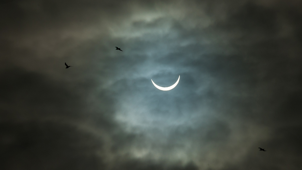 Final solar eclipse photograph – March 20th 2015