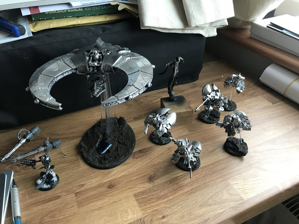 The Scythe and Destroyers after their clear cote