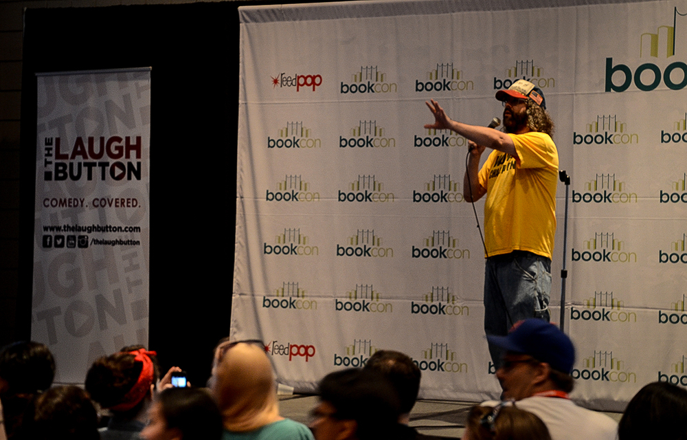 Judah Friedlander at The Laugh Button Live!, Book Con 2015 Photo: Matt Kleinschimdt