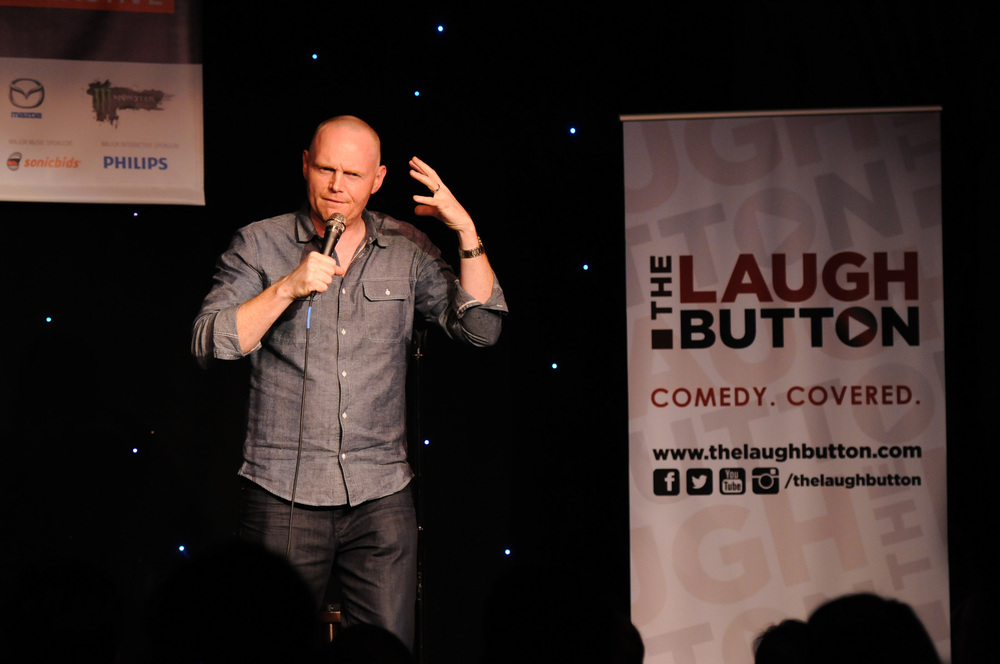 Bill Burr at The Laugh Button Live! presented by Gotham Comedy Club, SXSW 2015 Photo: Kristin Hillery