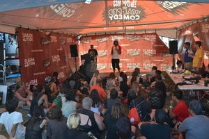 Vans Warped Tour Comedy Tent