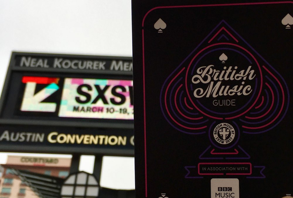 British Music Embassy @ SXSW  Street Marketing