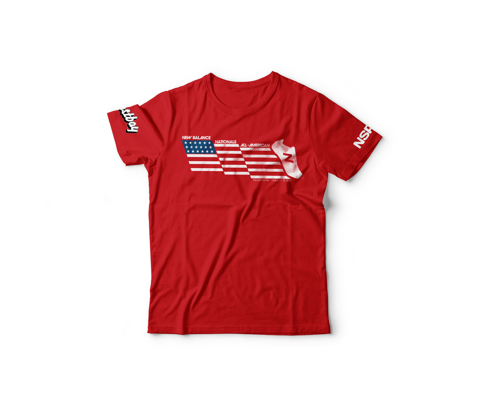NB Nationals All American Tee