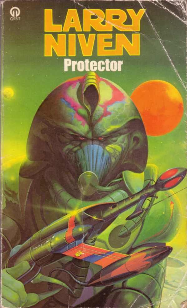"""""""Protector"""" by Larry Niven, Orbit Books Copyright 1973"""