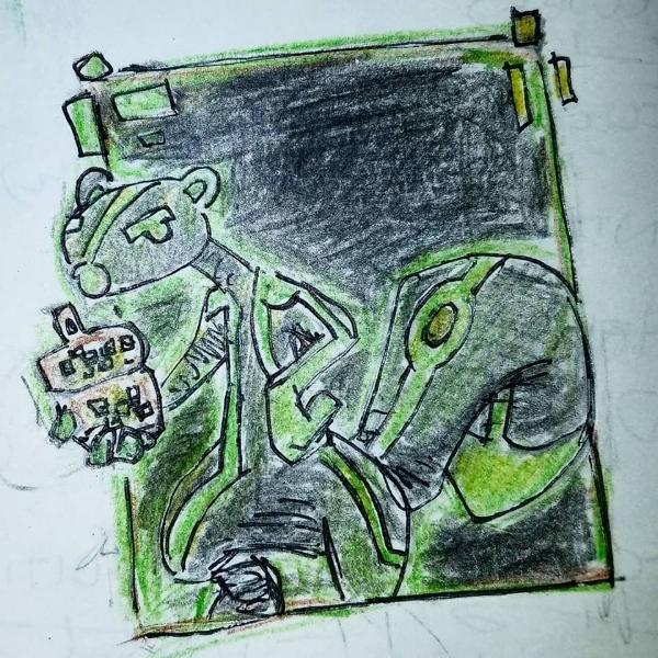 Ratatoskr as he appears in cyberspace
