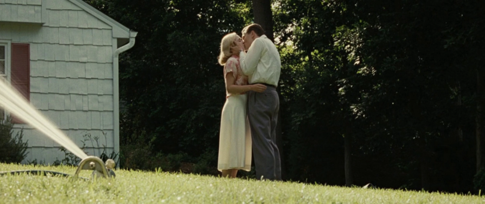 KATE WINSLET AND LEONARDO DICAPRIO IN REVOLUTIONARY ROAD VIA FILM GRAB