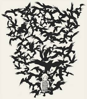Several crows.