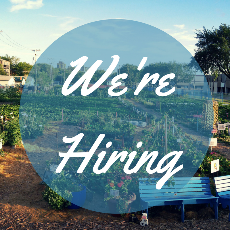 The Saskatoon Food Bank U0026 Learning Centre Garden Patch Is Now Hiring For The  2017 Growing Season! Weu0027re Looking For Individuals With A Passion For Food  ...