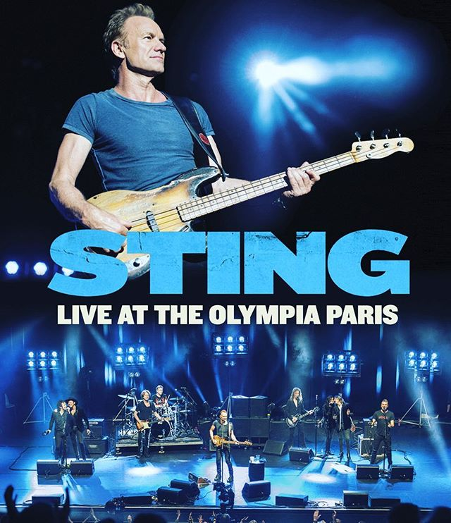 """Thrilled and honored to be a part of @theofficialsting """"STING Live at The Olympia Paris"""" DVD out today.  Catch our entire opening set and get your copy! #thelastbandoleros #sting #57thand9th #liveattheolympia"""