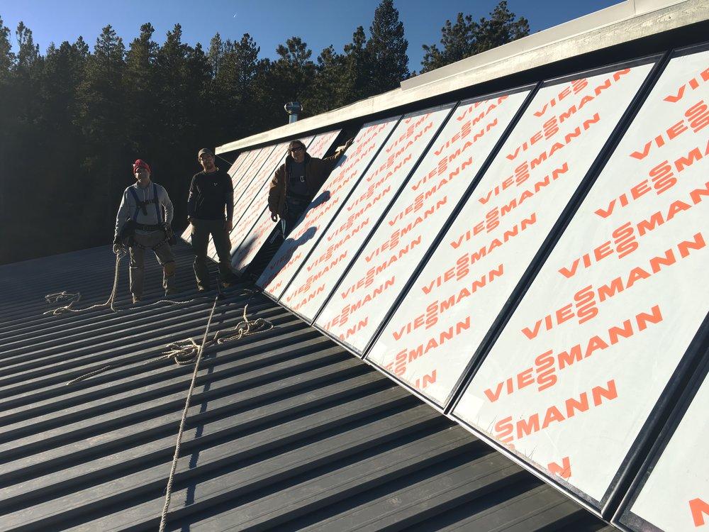 Installed Viesmann Panels