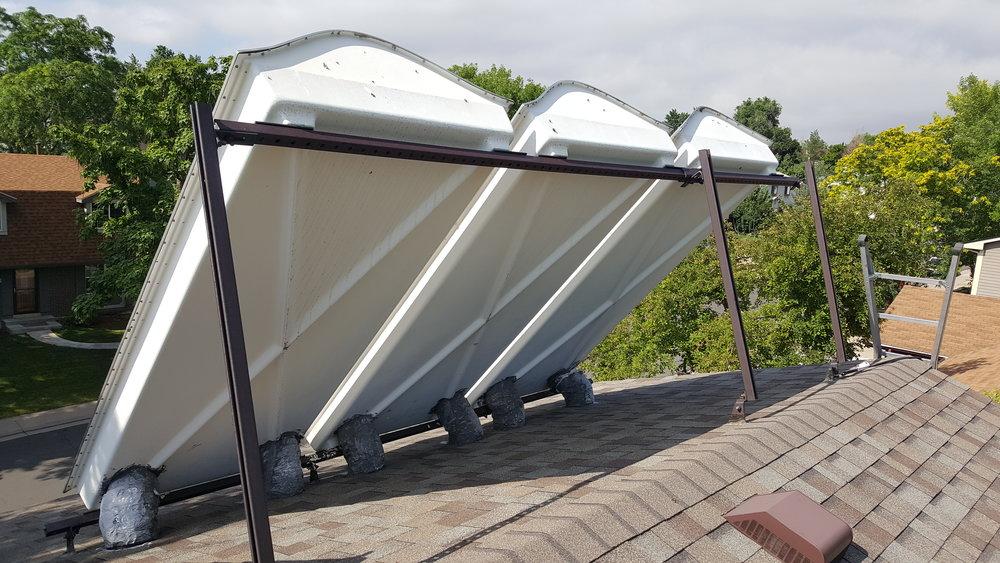 Older Style Solar Air Panel