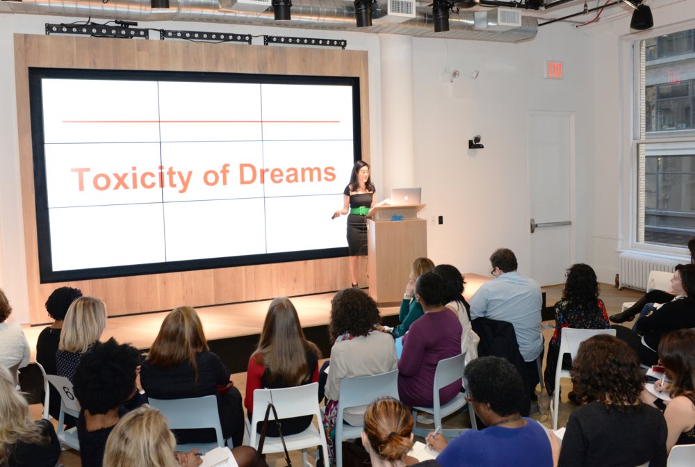 ANGELA JIA KIM TEACHES A COURSE ON DREAMS IN NYC.