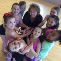 Karen kern, with her dance students
