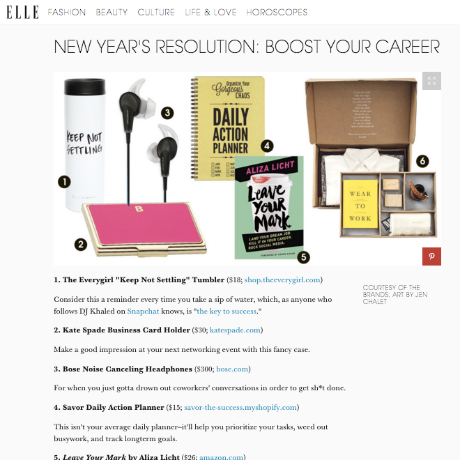 Elle.com Daily Action Planner DAP Press.png