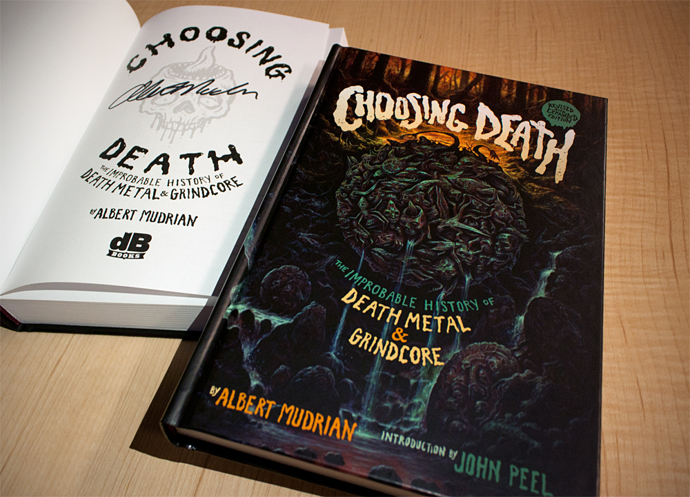 Limited Autographed Choosing Death Copies Available for Holidays