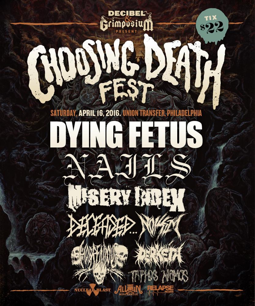 Derkéta Replaces Magrudergrind at Choosing Death Fest!