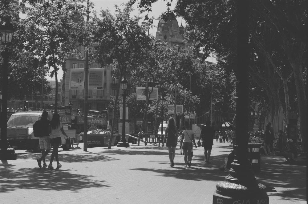 Placa Catalunya - Barcelona 2015