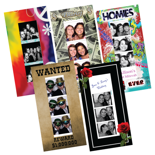 photostrip frames samples