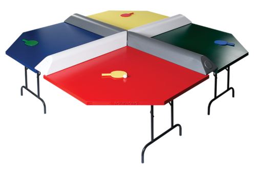 4 player poly pong table