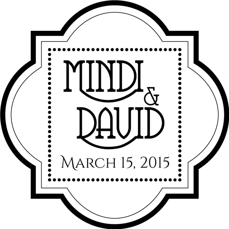 mindi and david logo