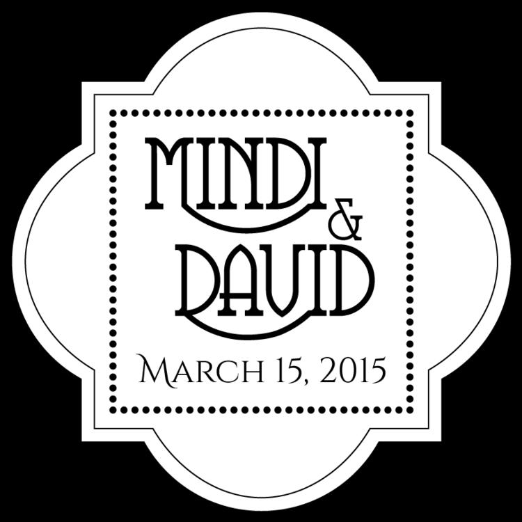 mindi and david logo
