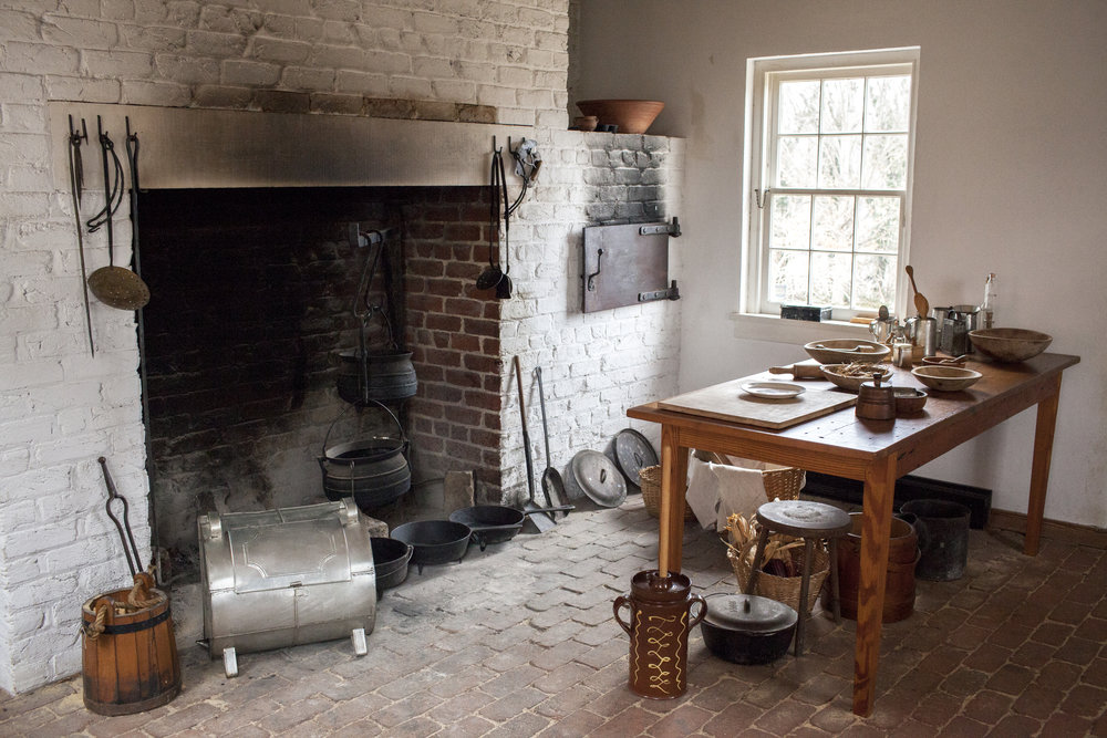 Hearth kitchen at point of honor