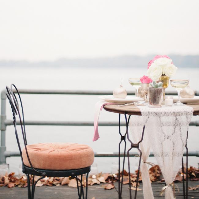 Romantic Lakeside Dinner