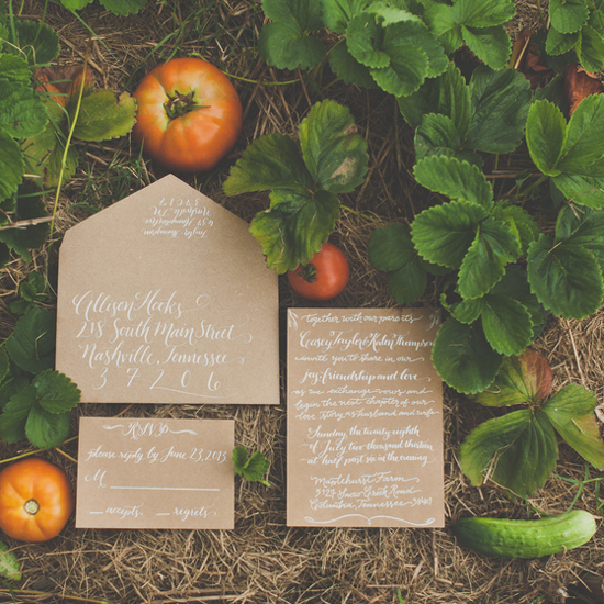 Summer Farm-to-Table Nashville Wedding
