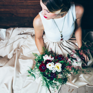 Moody Spring Wedding Inspiration