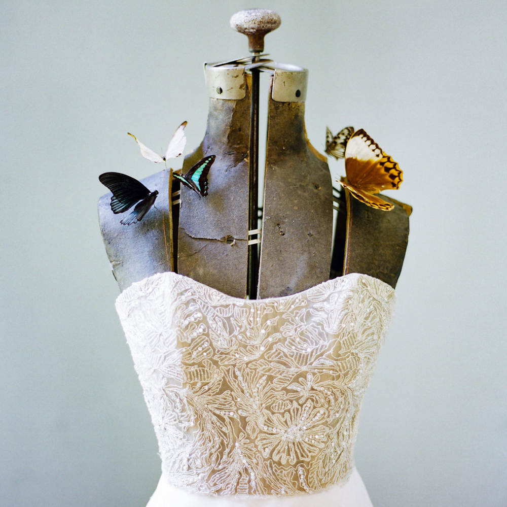 Entomology-Inspired Wedding Editorial