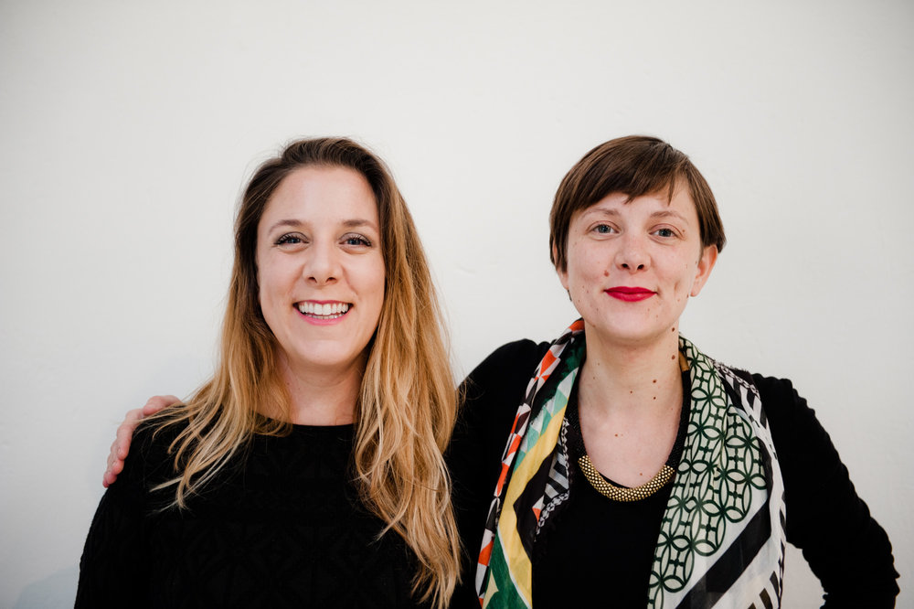 Tessa and Arianna Moroder, founders of Lottozero. Photo: Claudia Corrent