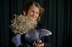 Leesa Haapapuro, puppet designer