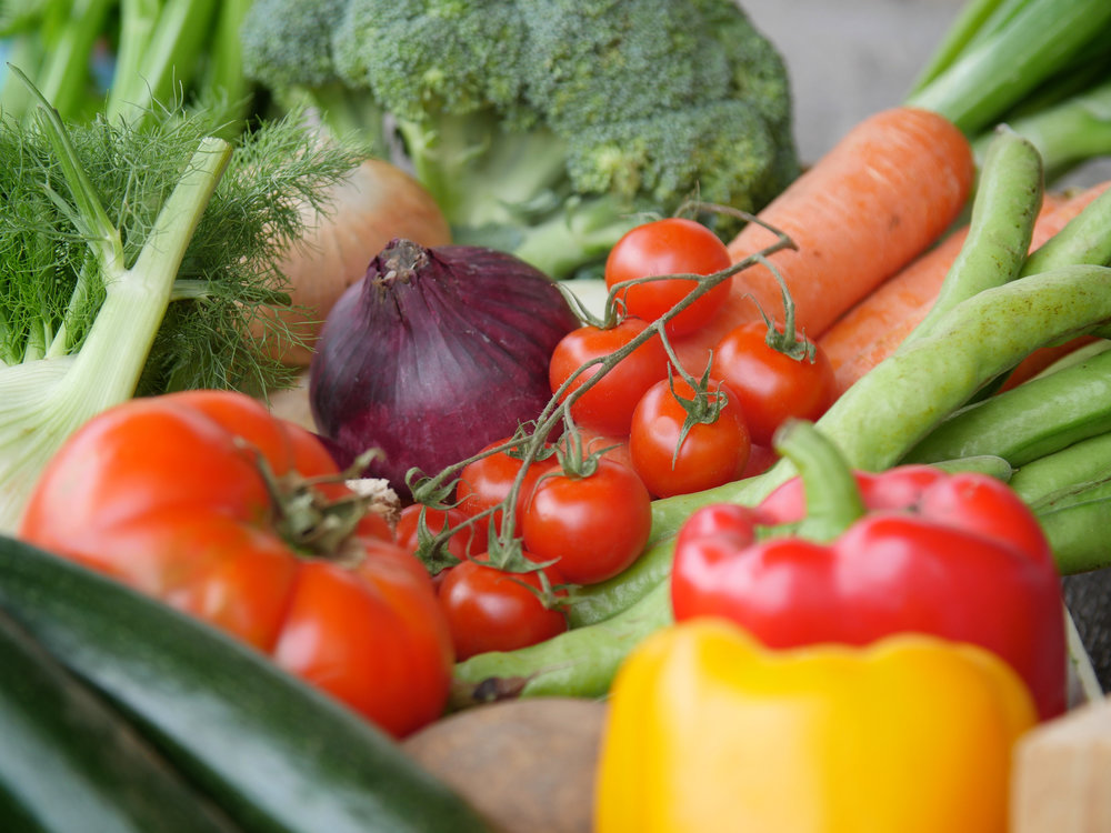 Organic Fruit & Vegetables -