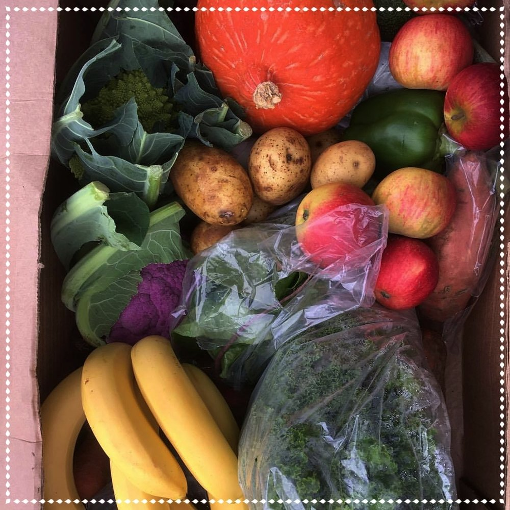 Fruit & Veg Box - + Small (£10)+ Medium (£15)+ Large (£20)