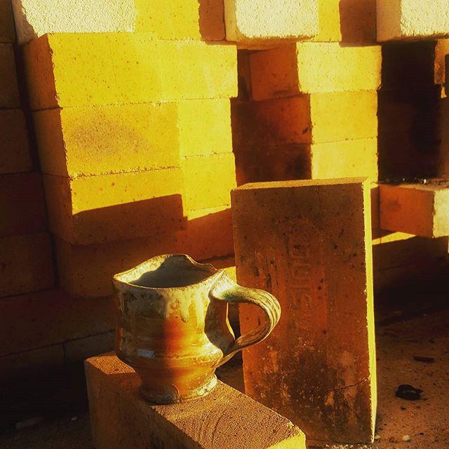 #Riseandshine #turnandburn  #woodfiredpottery #studiopottery