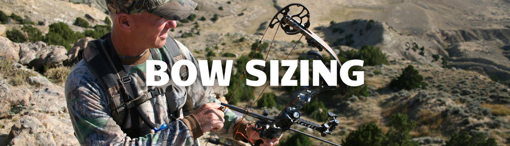 Sizing your bow to fit you is crucial, so you want to get this right.  Luckily, we can help.