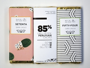 DMagazine: CocoAndre Releases a beautiful chocolate bar line