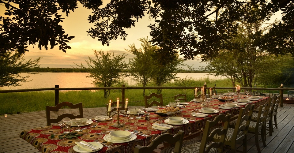 Dinner time at Chobe Bakwena