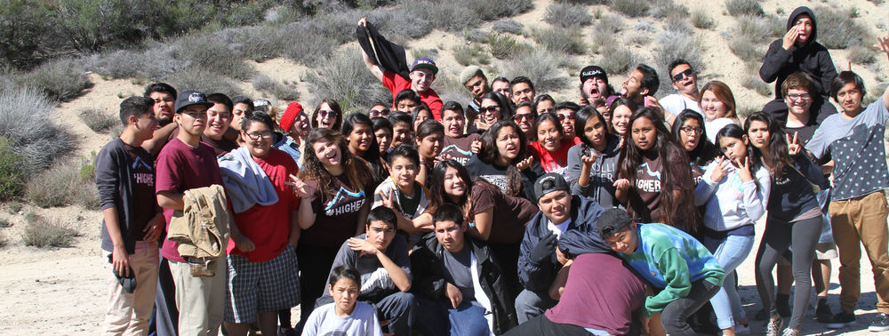 The Garnet & Maple neighborhoods bonded while at The Oaks Winter Camp.