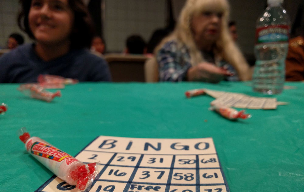 Bingo Night at The Merge with the Rancho La Paz Mobile Home Park