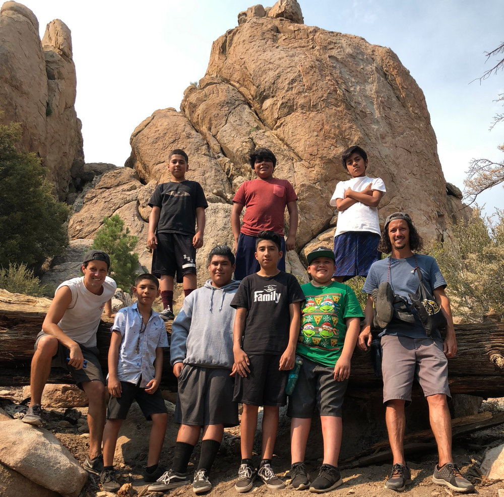 Sometimes volunteering will take you to Joshua Tree with our Tilt students. Come volunteer with any of our half a dozen Context For Relationships and walk with our students and young adults!