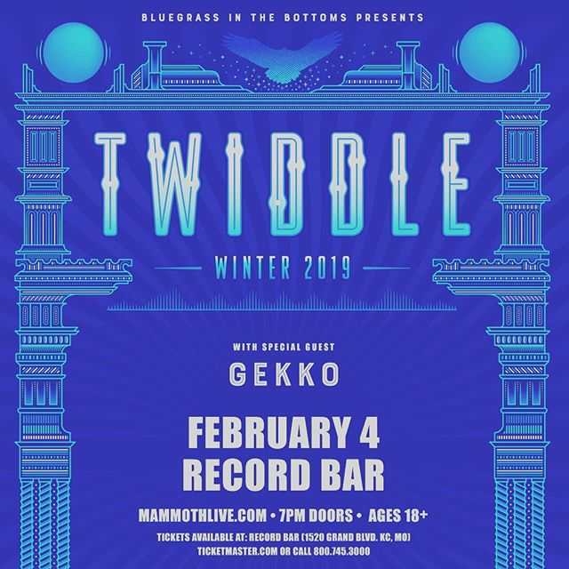 KCMO we will be opening up for @twiddlemusic at RecordBar On February 4th! Do not miss out!