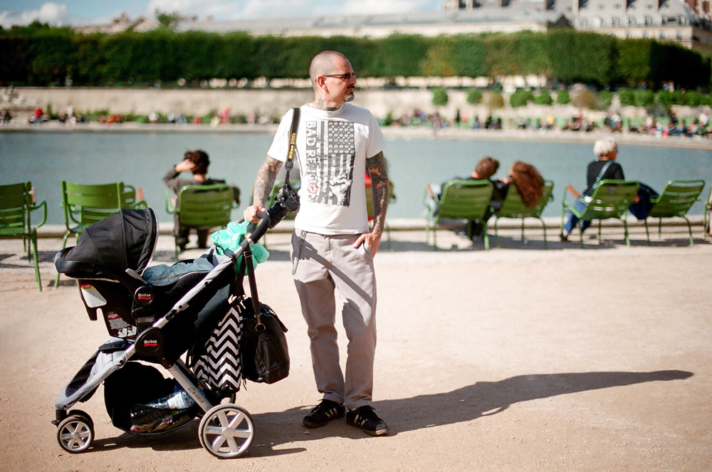 baby in paris