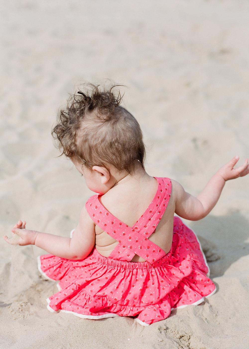 baby holkham beach