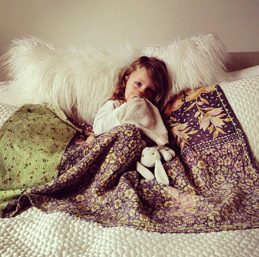 kantha blanket head regal