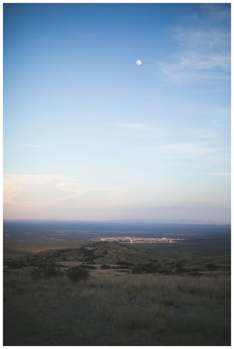 sunset marfa texas